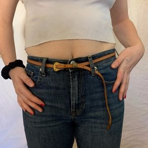 URBAN OUTFITTERS thin western belt